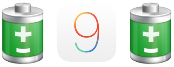 Fix iOS 9 Battery Life Problems