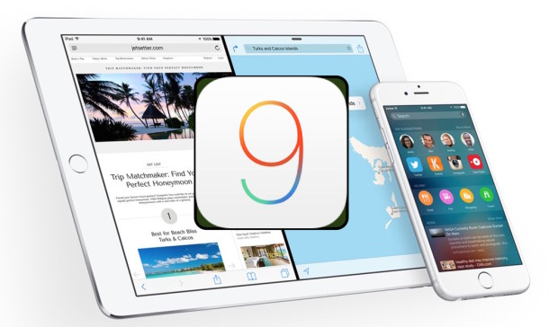 iOS 9 Update available now