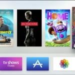 New Apple TV UI