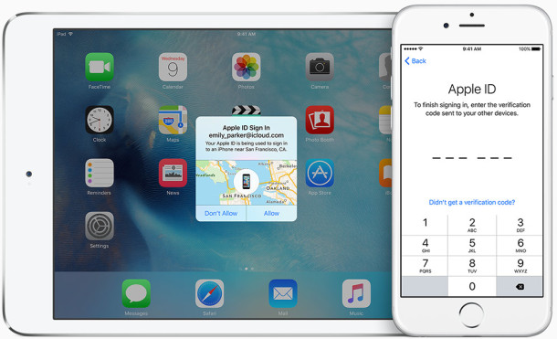 Six digit passcodes in iOS 9 and more security