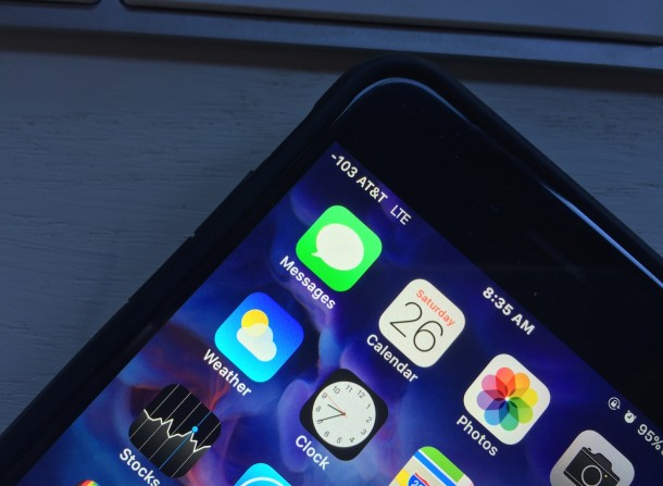 An unlocked iPhone 6S Plus