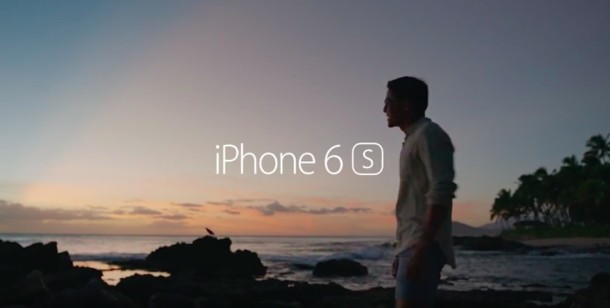 iPhone 6s 3d Touch commercial