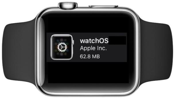 Apple Watch WatchOS Update