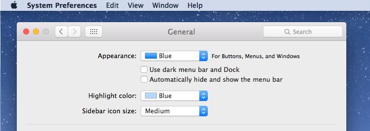 Disabling Dark Mode in OS X for default light mode color