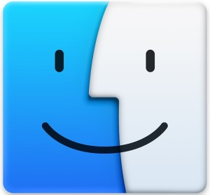 Mac Finder, where you can copy the path of a file name easily
