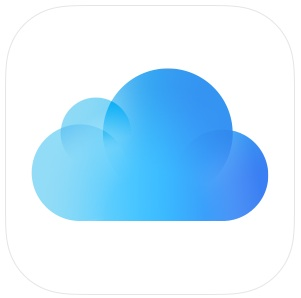 iCloud Drive icon in iOS