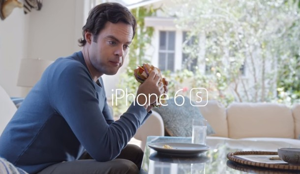 Prince Oseph Hey Siri iPhone commercial eating a sandwich sign me up Bill Hader