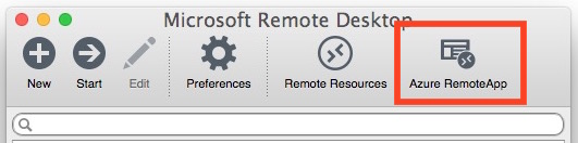 Azure accesses IE 11 on Mac