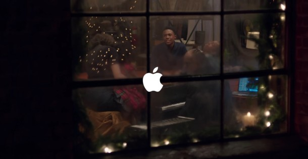 Apple Holiday 2015 commercial with Stevie Wonder