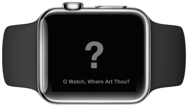 Apple Watch Mark As Missing with Activation Lock
