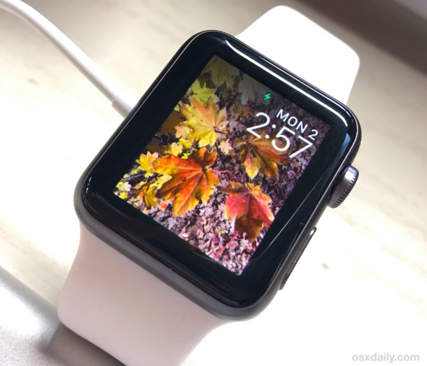 Copying photos to an Apple Watch