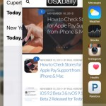 Quitting apps in iOS 9 is done through the app switcher multitasking screen