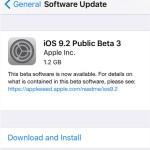 iOS 9.2 public beta 3