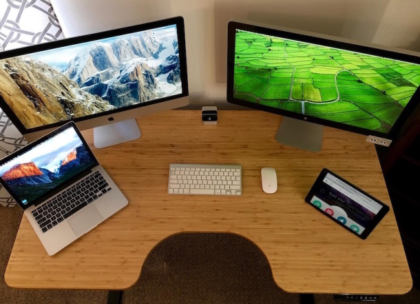 Mac setup of a CEO of web development and software development firm