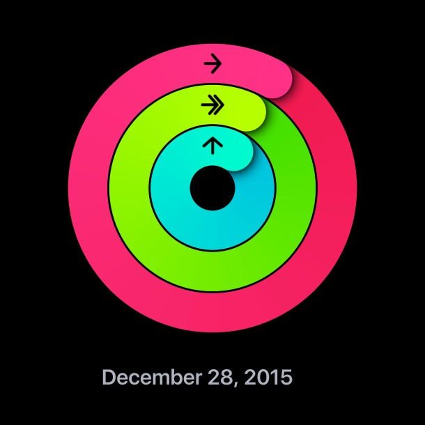Activity Ring sharing on Apple Watch and iPhone