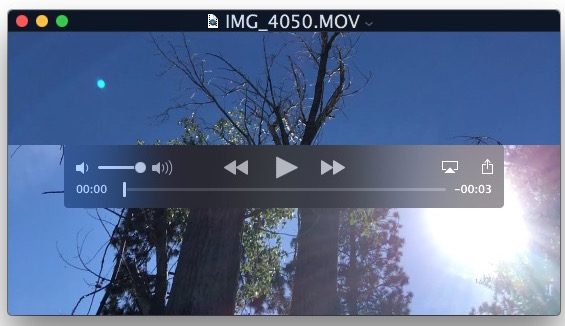 AirPlay a video from QuickTime player to an AirPlay receiver from Mac OS X