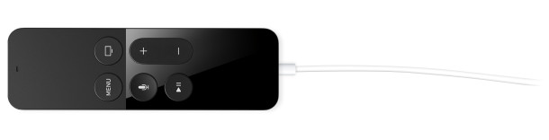 Charging Apple TV Remote