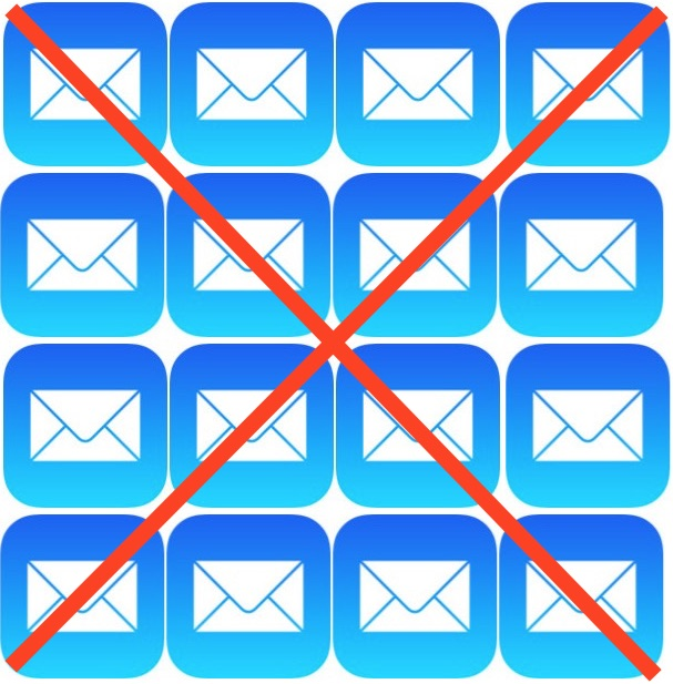 Delete all emails from Mail in iOS