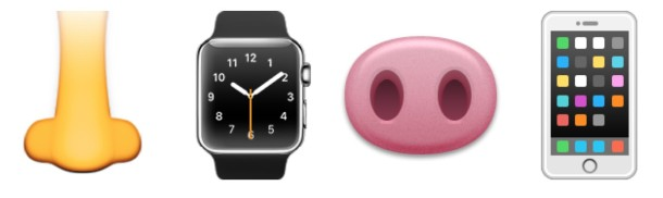 Use the Nose for Apple Watch and iPhone input