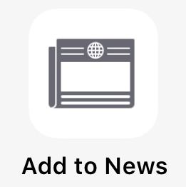Manually add RSS and websites to News app in iOS