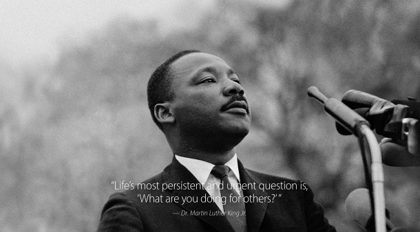 MLK Jr famous quote wallpaper from Apple.com