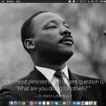 MLK Jr wallpaper quote on a Mac