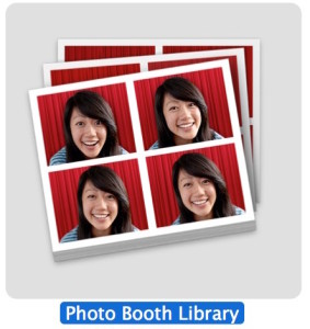 Photo Booth Library in Mac OS X