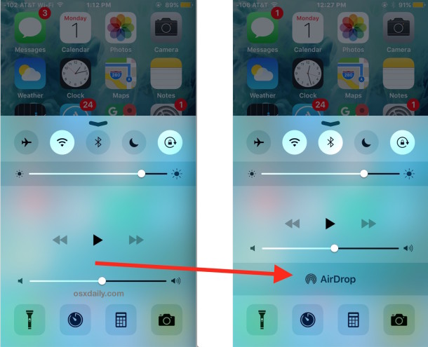 AirDrop not showing up in iOS is easy to fix