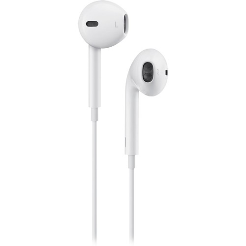 Apple Earbuds can be used for phone calls and are included free with every iPhone in the box