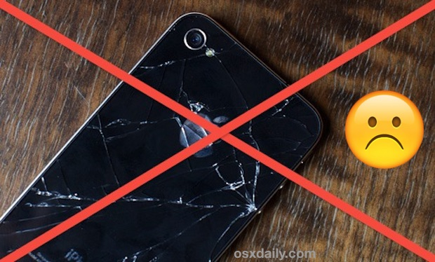 a broken iPhone often will not charge due to damage