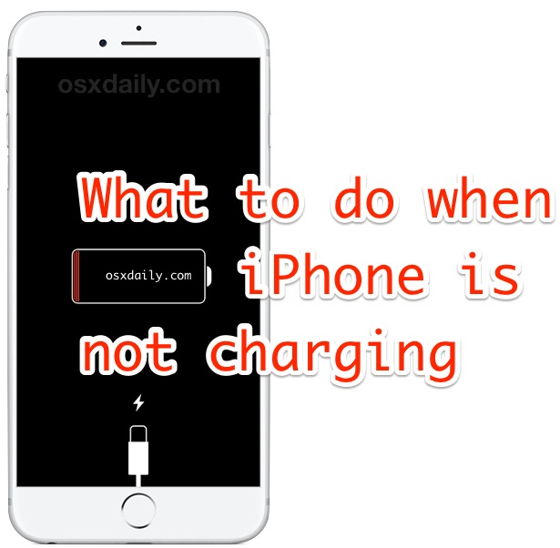 iPhone not charging? Here is how to fix it