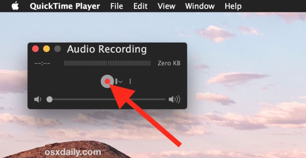 Record the sound you want to set as the alert for Mac OS X