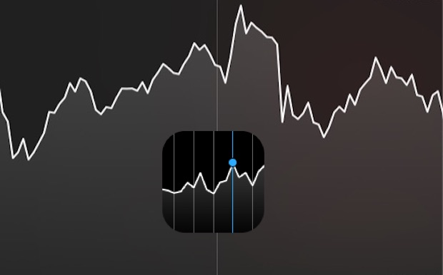 See long term stock charts on iPhone Stocks app