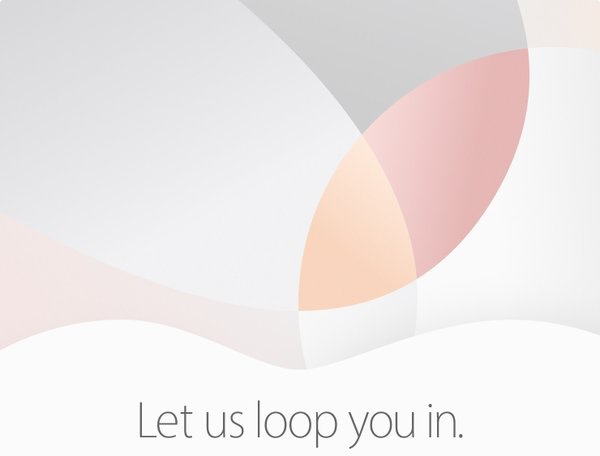 Apple Invite for March 21 2016 event
