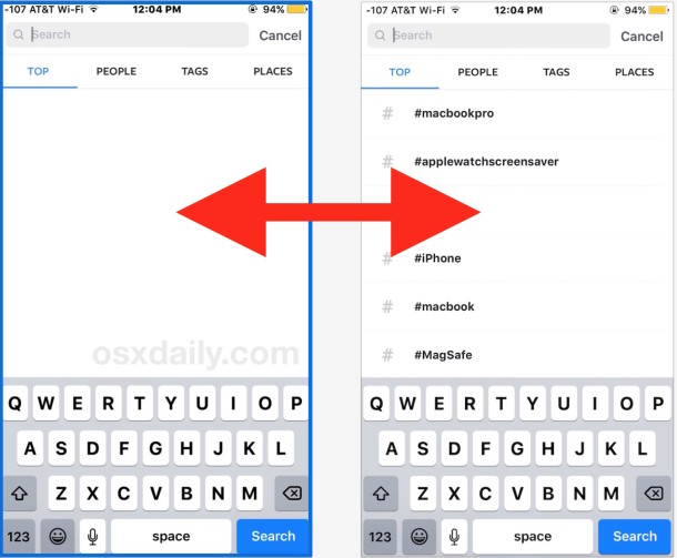 how to clear search history on iphone how to clear instagram search history 19925