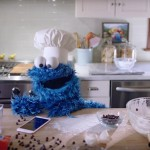 Cookie Monster and Siri in iPhone commercial