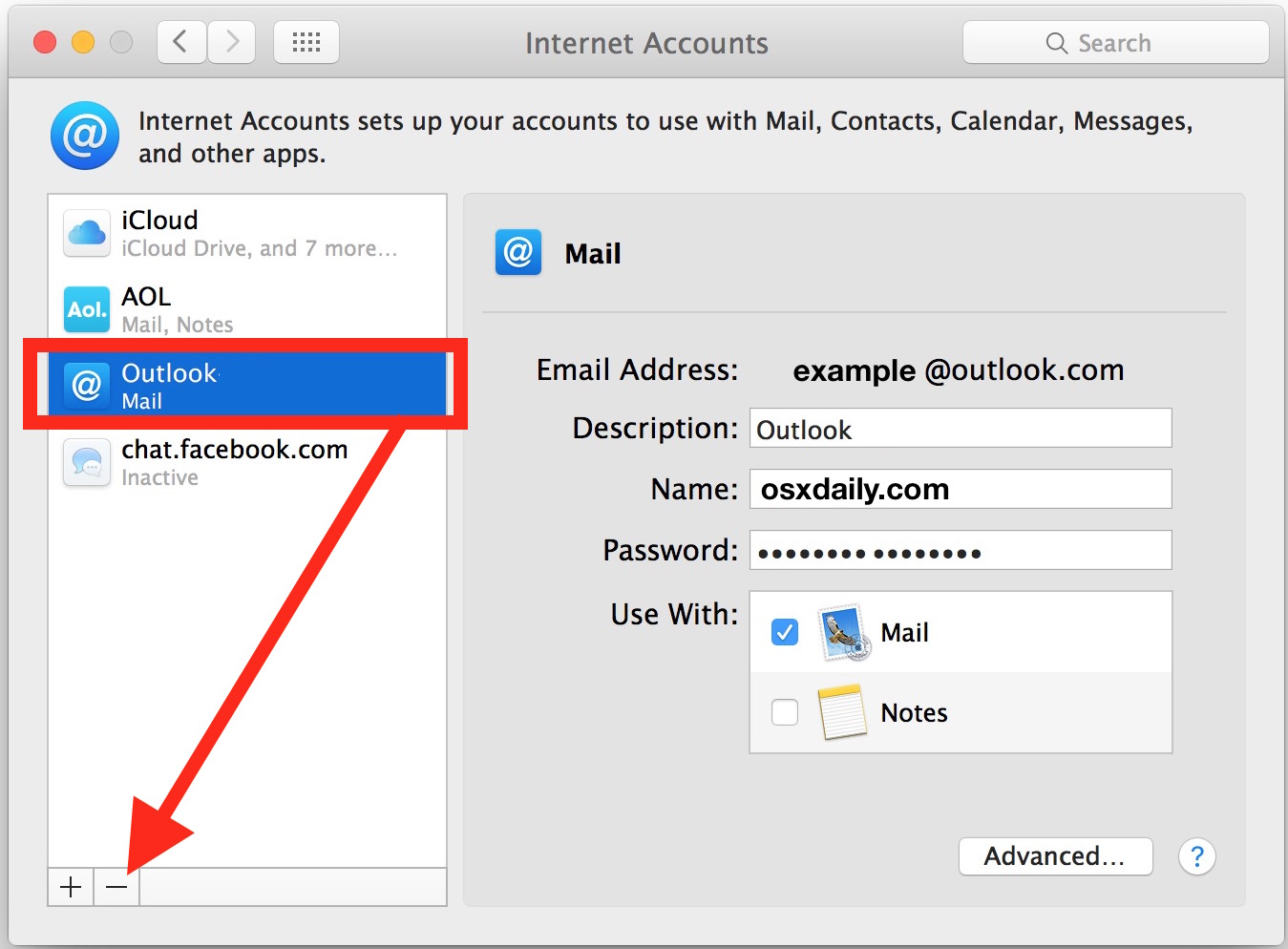 how to logout of mail on iphone remove an email account from apple mail ucsb support 20151