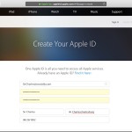 Make a new Apple ID to fix device not eligible error
