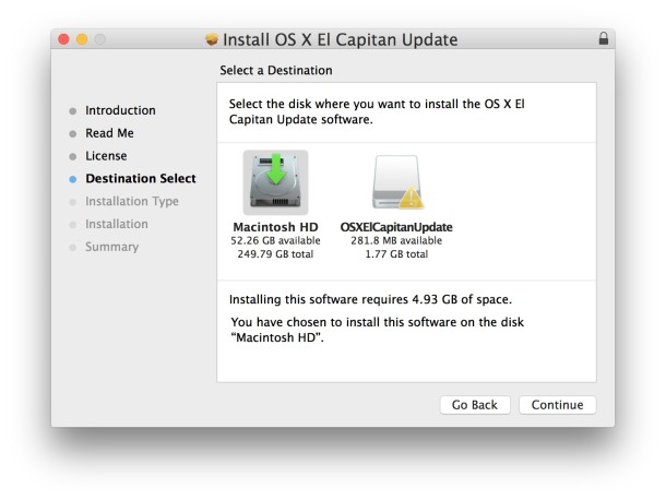 select-target-disk-to-install-combo-update-mac