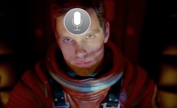 2001 A Space Odyssey with Siri