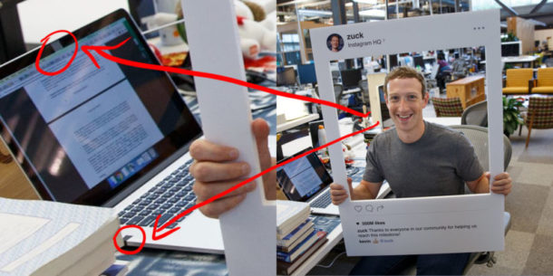 Mark Zuckerberg tape over camera and microphone on computer