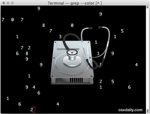 Erase free space on a Mac drive from the command line