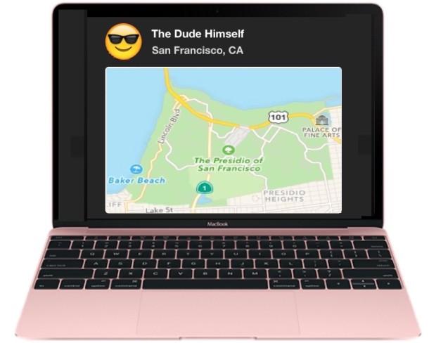Find my Friends on a Mac
