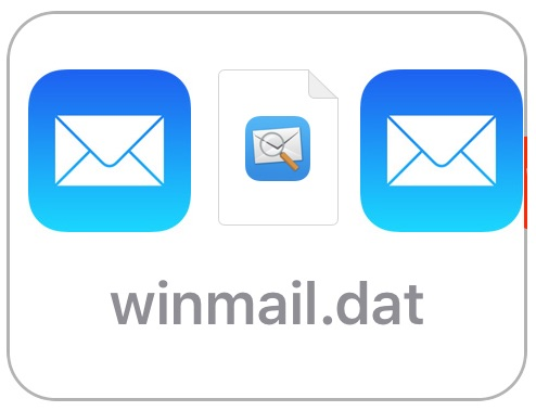 Opening winmail.dat files in iOS Mail on iPhone and iPad