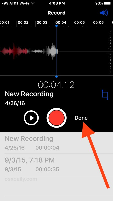 how to record audio on iphone how to record voice memos amp audio on iphone 18964