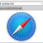 Show tabs playing sound in Safari on Mac