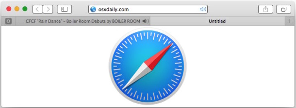 Show tabs playing sound in Safari on Mac