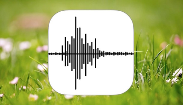 Record Audio and Voice on iPhone with Voice Memos