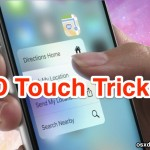 3D Touch Tricks for iPhone