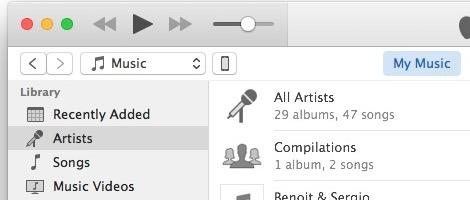 Edit the iTunes sidebar